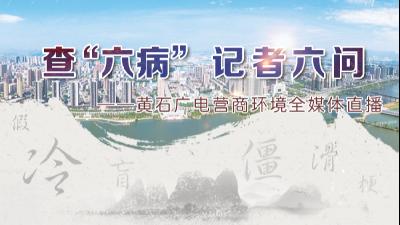 """查""""六病""""记者六问——黄石广电营商环境全媒体直播(3)"""