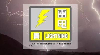 暴雨、雷电、大风今晚杀到黄石!注意防范