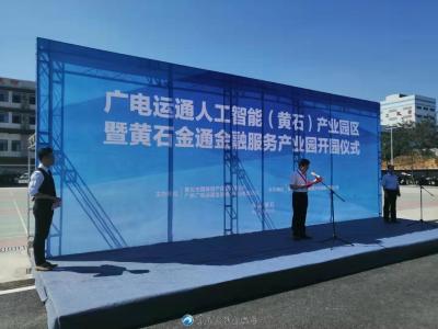 黄石金通金融服务产业园正式开园
