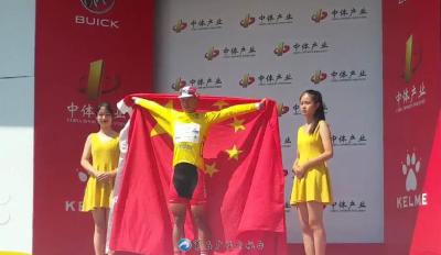 中国选手完成首次环中国黄衫加身 雅安蒙顶山赛段吕先景总成绩登顶