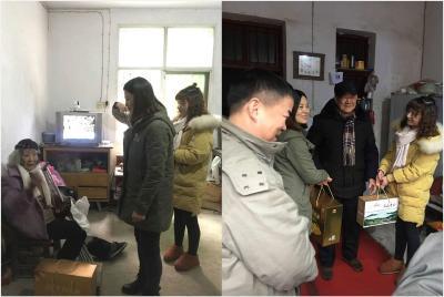 国网黄石高新区供电中心东方山供电所开展新春慰问