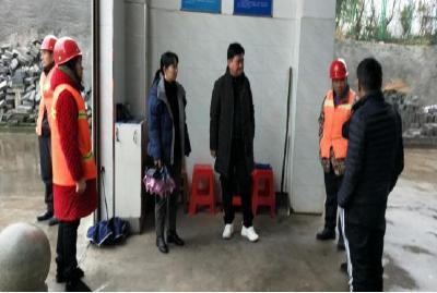 开发区·铁山区城管局对辖区垃圾中转站开展安全生产督查