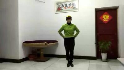 黄思湾社区靓之舞队刘金玉鬼步舞《桥边姑娘》