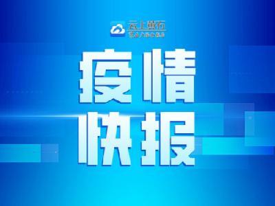 黄石市新冠肺炎最新疫情(3月31日0-24时)