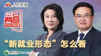 """两会5G云连线│""""新就业形态""""怎么看"""