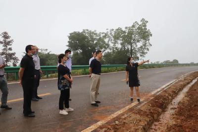 朱宏伟调研区民生和文旅项目推进指挥部工作