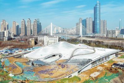 武汉琴台美术馆项目建设开年冲刺