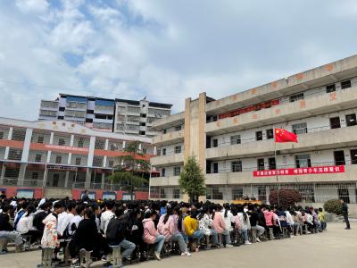 白沙镇:法制宣传进校园