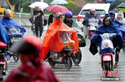 长江中下游地区将有较强降雨过程 东部海区有大雾