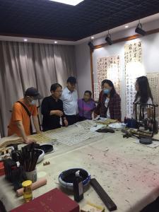 """湖北黄石供电公司:开展""""铭记党史""""书法交流会"""