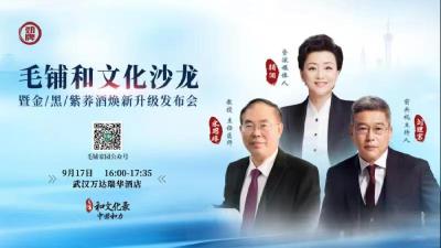 【直播】毛铺和文化沙龙武汉站