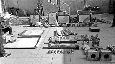 山西文物系列被盗案告破 缴获被盗壁画等一大批文物
