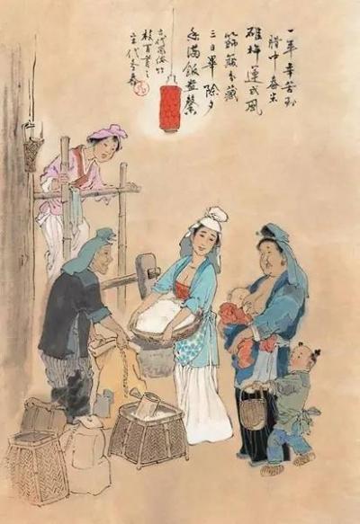 古人过春节,年味儿十足!