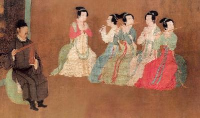 """唐朝就有""""春晚""""可看 皇帝亲自制作歌舞"""