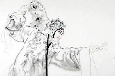 原创现代黄梅戏《槐花谣》在黄梅戏大剧院上演