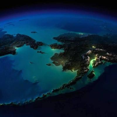 从太空看世界各地夜景,哪一个最美?