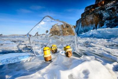 蓝冰贝加尔,春天的翡翠之海