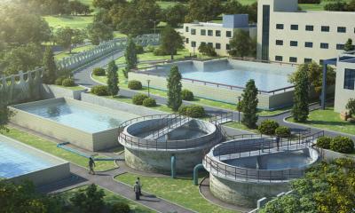 浠水:散花示范区自来水厂改扩建工程加速推进