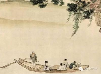 书画赏析:仇英的三幅《赤壁图》