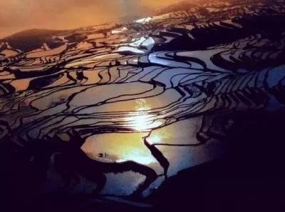 看梯田不用去阳朔 重庆周边就有这种人间秘境