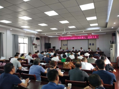 市住建系统召开纪念建党97周年暨七一表彰大会