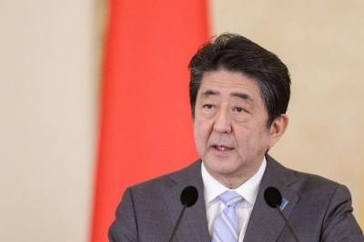 日本首相安倍晋三再次当选自民党总裁 成功实现连任