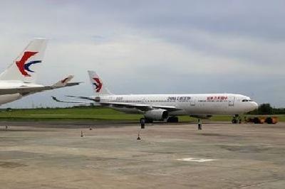 261名滞留塞班旅客乘东航飞机返回国内