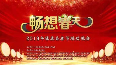 """直播︱""""畅想春天""""2019年保康县春节联欢晚会"""