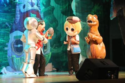 恐龙迷最爱的舞台剧《圆梦恐龙岛》即将登陆黄冈