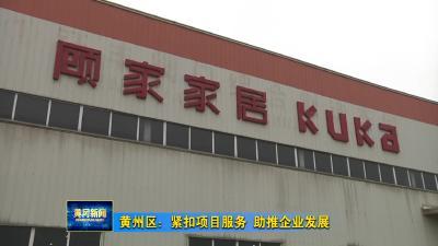 黄州区:紧扣项目服务 助推企业发展