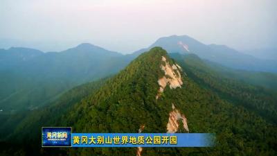 视频︱黄冈大别山世界地质公园开园