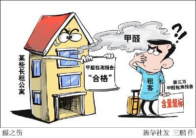 甲醛检测结果不一致、丢报告、不赔偿——长租公寓空气检测之痛何时休?