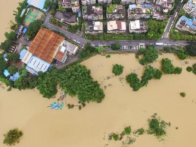 发生洪水的时候,应如何自救?