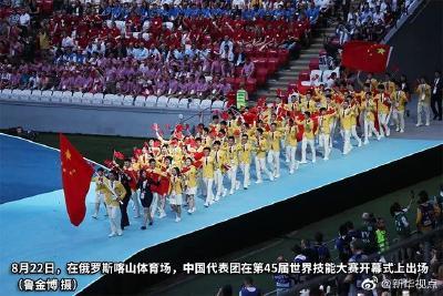 中国代表团又在一世界大赛上技压群雄!