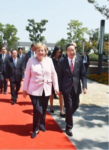 蒋超良王晓东会见德国总理默克尔