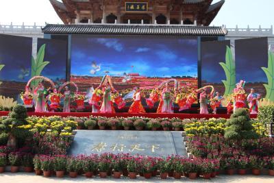 第八届湖北•麻城菊花文化旅游节隆重开幕