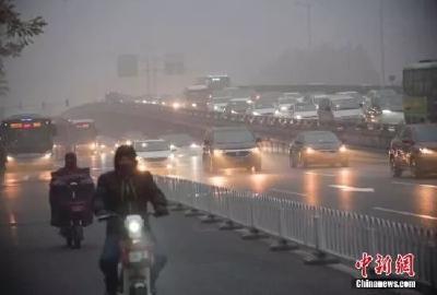 数十城空气重度污染,气象部门:冷风已在路上