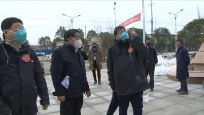 黄冈市第四专家组来武穴市现场指导新型冠状病毒感染的肺炎医疗救治工作