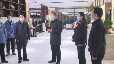 山东省委副书记杨东奇来黄冈对接疫情防控支援工作