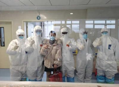 小蓝线升升升!山东对口支援黄冈市,新增治愈病例连续3天大于百例