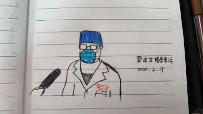 """萌翻我的眼!湖南护士手绘抗""""疫""""点滴"""