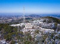 【冬雪丽景】黄冈广播电视台发射中心