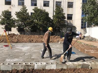 齐安国投:加班加点奋力抢建 确保黄冈市传染病医院升级改造如期完成