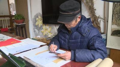 """万众一心 战胜疫情 · 典型 王家振:手绘漫画为武穴防疫""""加油"""""""