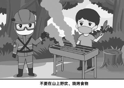 【黄冈聚焦】进入山林后,如何预防森林火灾