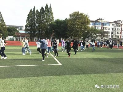 """黄冈市开展""""国际减灾日""""应急演练活动"""