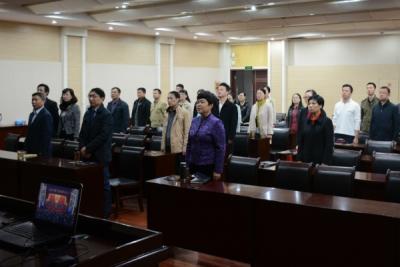 省社科联认真组织收听收看党的十九大开幕会