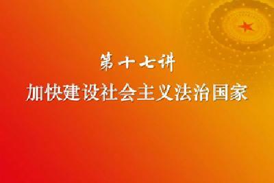 习近平新时代中国特色社会主义思想三十讲(第十七讲)
