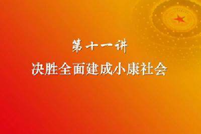 习近平新时代中国特色社会主义思想三十讲(第十一讲)
