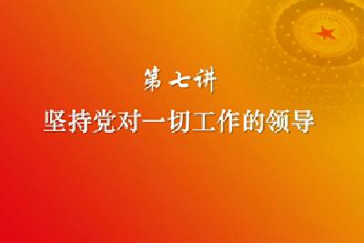 习近平新时代中国特色社会主义思想三十讲(第七讲)